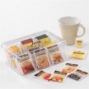Contenitore porta tea in acrilico GRANDE