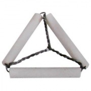 Pipe Clay Triangle - Pack of 10