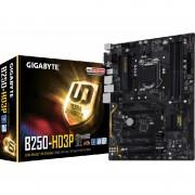 Placa de baza GIGABYTE GA-B250-HD3P, socket 1151, 4 x DDR4, 6 x SATA3, ATX