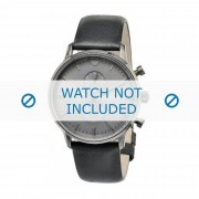 Giorgio Armani bracelet de montre AR0388 Cuir Noir 22mm