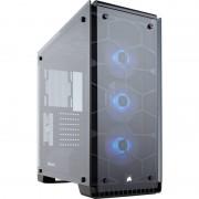 Carcasa Crystal 570X RGB, MiddleTower, Fara sursa, Negru