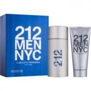 Carolina Herrera 212 NYC Men lote de regalo VII. eau de toilette 100 ml + gel after shave  100 ml