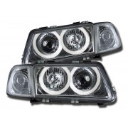 Faruri Angel Eyes Audi A3 8L 96-00 crom
