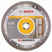 Диск диамантен за рязане Expert for Universal Turbo, 230 x 22,23 x 2,8 x 12 mm, 1 бр./оп., 2608602578, BOSCH