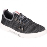 Somugi Mesh Grey Walking Canvas Casual Sneakers Shoes for Men and Boys