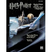 Harry Potter Magical Music from the First Five Years at Hogwarts: Easy Piano, Paperback