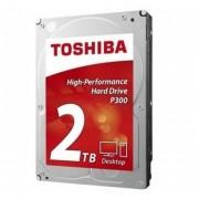 DISCO DURO INTERNO TOSHIBA 2TB P300 3.5 HDWD120UZSVA-negro