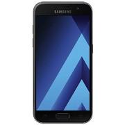 SM-A320F Samsung Galaxy A3 Smartphone, uit 2017, 4,7 inch, 12,04 cm, touch-display, 16 GB geheugen, Android 6.0, zwart, zwart