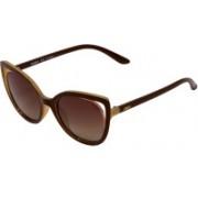 Enrico Cat-eye Sunglasses(Brown)