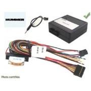 COMMANDE VOLANT HUMMER H2 2003- - Pour JVC complet avec interface specifique