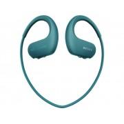 Sony NW-WS413L Sport Oordopjes In Ear MP3-speler, Oorbeugel, Waterbestendig Blauw