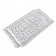 Linnea Lot de 2 serviettes invité 33x50 cm GRAPHIC HOOK gris