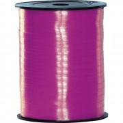 Merkloos Fuchsia roze lint 500 meter x 5 milimeter breed