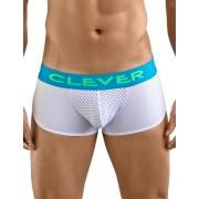 Clever Pleasure Cheeky Boxer Brief Underwear White 2360