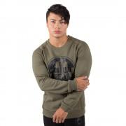 Gorilla Wear Bloomington Crewneck Sweatshirt - Army Green - 4XL
