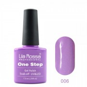 Oja semipermanenta OneStep Lila Rossa Professional 7.3ml OLROS006