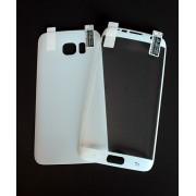 2в1 Удароустойчив протектор за Samsung G935 Galaxy S7 Edge Бял