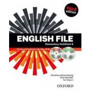 OXFORD English File Elementary Multipack B with iTutor DVD-ROM (3rd) - Clive Oxenden