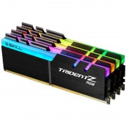 Memorie GSKill Trident Z RGB 64GB DDR4 3000 MHz CL14 Quad Channel Kit