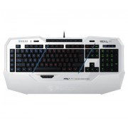 KBD, Roccat Isku FX White Multicolor, Gaming, USB