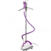 Aparat de calcat vertical cu abur Daewoo DGS1600DP, 1600 W, 40 min, 1.5 l, Alb/Violet