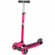 Nijdam Maxi 3-Wheel Scooter Tri-Surfer Pink and Anthracite