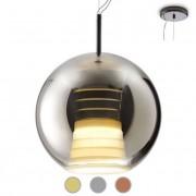 Fabbian Lampe suspension Beluga Royal Ø 40 cm LED 17W dimmable