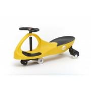 Masinuta cu roti din cauciuc Bobocar Yellow