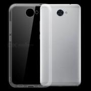 Dayspirit ultra-fino caso de la contraportada TPU para Huawei Y7