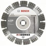 Disc Diamantat Best pentru BETON;BETON ARMAT,D=230mm