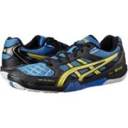 Asics GEL-BLADE 4 - BLUE/YELLOW/BLK Badminton Shoes For Men(Black, Blue)