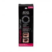 Ardell Magnetic Gel Liner 3 g odstín Black sada magnetická gelová linka 3 g + štěteček na linku 1 ks pro ženy