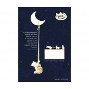 BRUER Little Travel Notebook Il Gatto E La Luna
