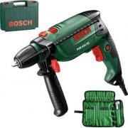 Bosch PSB 650 RE Ütvefúrógép 650 W + 39 db-os Tartozékok 220V