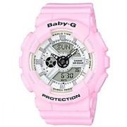 Casio Baby-g Analog-Digital White Dial Womens Watch-BA-110BE-4ADR (BX082)