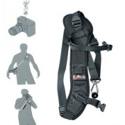 Focus F-1 Anti-Slip Quick Rapid Shoulder Sling Belt Neck Strap For Camera Slr Dslr Black