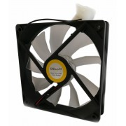 FAN, Delux CF4, 120mm, WHITE LED (CF4_White)