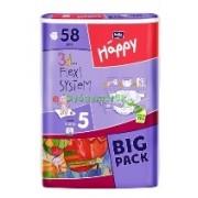 BELLA Happy pelenka Junior Big pack (12-25kg) 58x