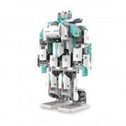 UBTECH Jimu Inventor kit Robot - мултифункционален робот, управляван от iOS и Android устройства чрез Bluetooth (бял-сив)