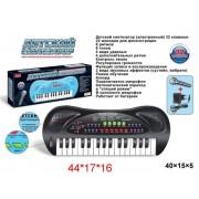Синтезатор 32 клавиши, черн., эл. звук, микрофон, запись, эл.пит.не вх.в компл. ZYB-B0690-1