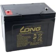Long 12V 75Ah ólom-sav akkumulátor Deep Cycle AGM F8 (KPH75-12N)