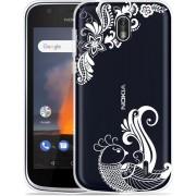 Nokia 1 Hoesje White Bird