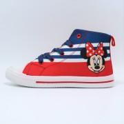 Tenisi cu licenta Disney Minnie Mouse rosu navy marimi 25 32