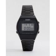 Casio Черные электронные часы из нержавеющей стали Casio B640WB-1AEF