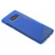 Blauw S-line TPU hoesje voor de Samsung Galaxy S8