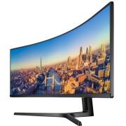 """Monitor Samsung 48.9"""", LC49J890DKUXEN, 3840x1080, VA, zakrivljen, HDMI, DP, USB-C 2x, Lift, crna, 24mj"""