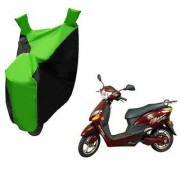 AutoAge Two Wheeler Green Colour Cover for Hero Electric Bikes Electric Optima Plus