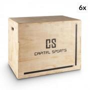 """Capital Sports Shineater BL, pliobox készlet, dobozok ugrálásra, 3 magasság 20"""", 24"""", 30"""", fa (PL-6x-8758)"""