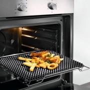 Noppen-Backmatte, Silikon-Noppenmatte, geschmacksneutral. Hitzebeständig bis 240 °C, Untersetzer, 40 x 29 cm, passend für Standard-Backbleche
