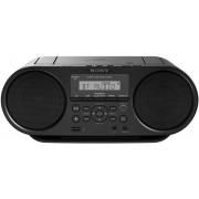Micro Sistem Sony ZSRS60BT, CD/MP3 Player, Radio AM/FM (Negru)
